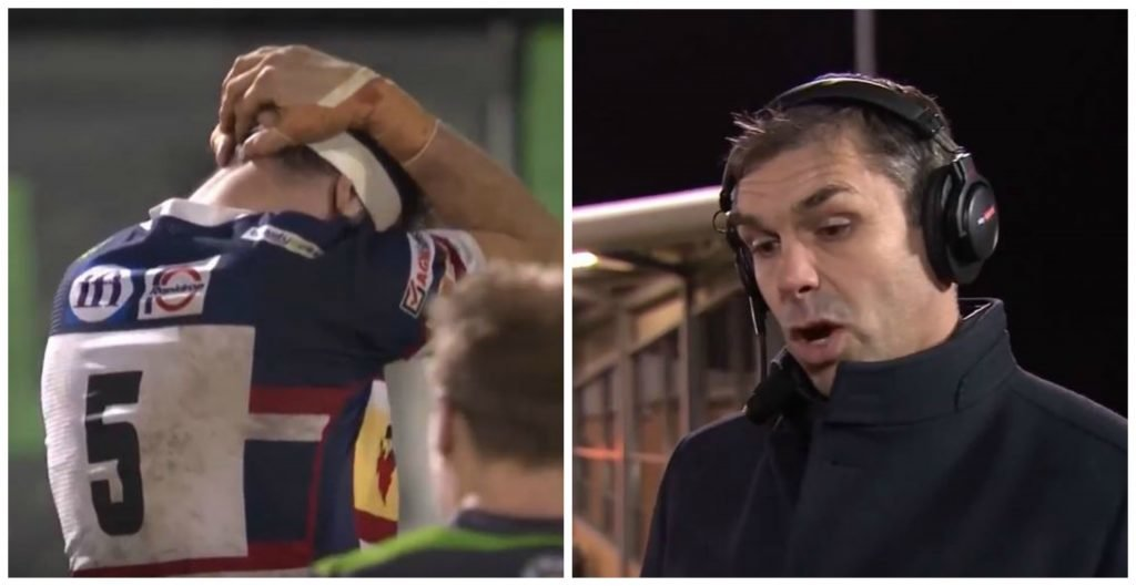 MADNESS: Pat Sanderson destroys latest insane TMO incited red card with inspired rant