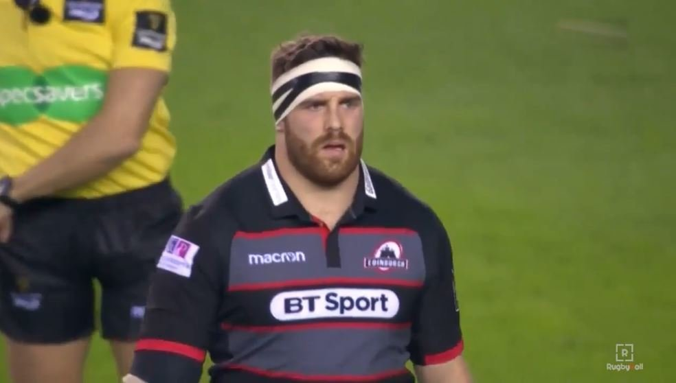 Ref has 'no choice' but to red card prop after just 6 minutes