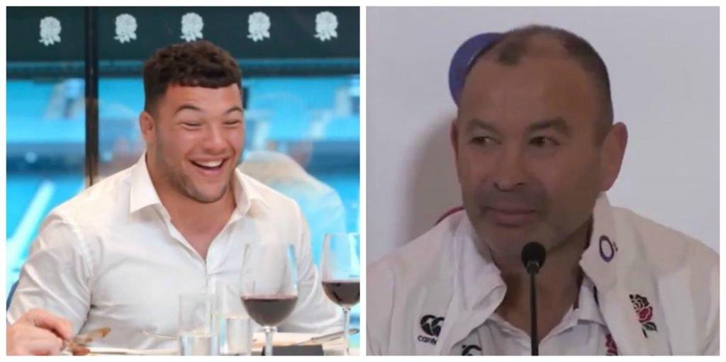 VIDEO: Eddie Jones reacts to Ellis Genge's appearance on Masterchef