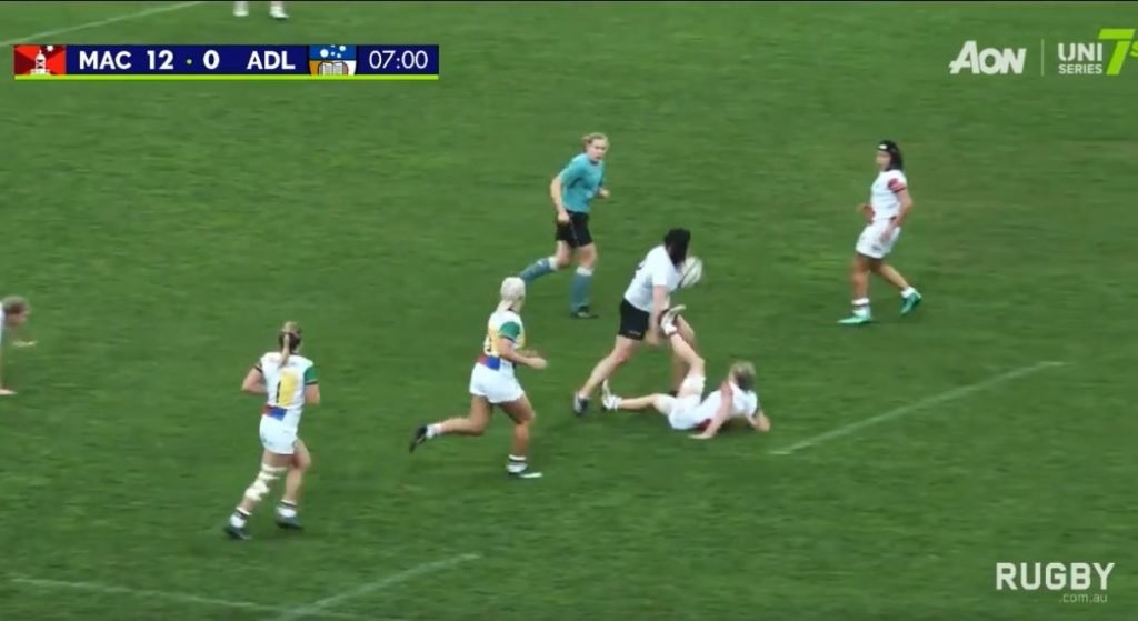 ARU release footage of terrifying woman called the 'K-Train'