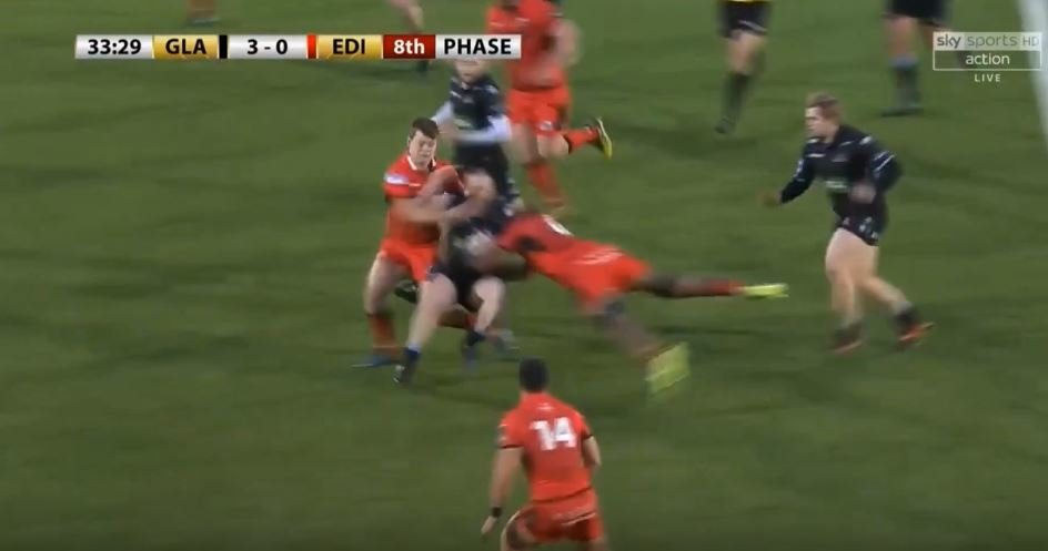 VIDEO: Nick Grigg responds to HUGE hit in the best way possible