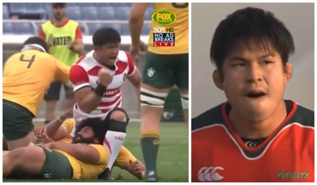 Meet the backrow widely considered one of best prospects in Japanese rugby