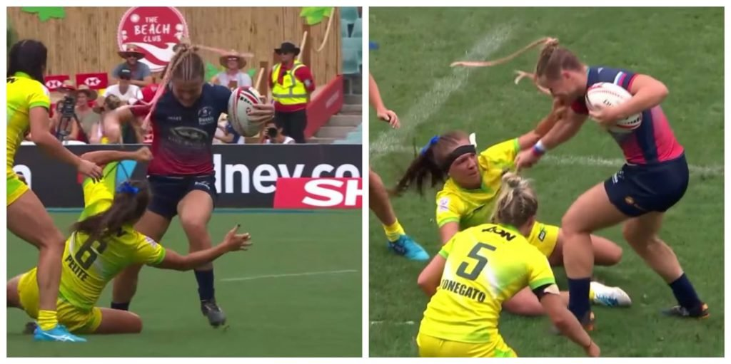 VIDEO: 8 game ban for this Russian 7s player's reckless use of the boot