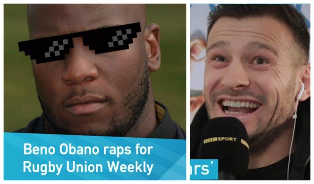 WATCH: Just Bath prop Beno Obano 'spitting some bars' cuz