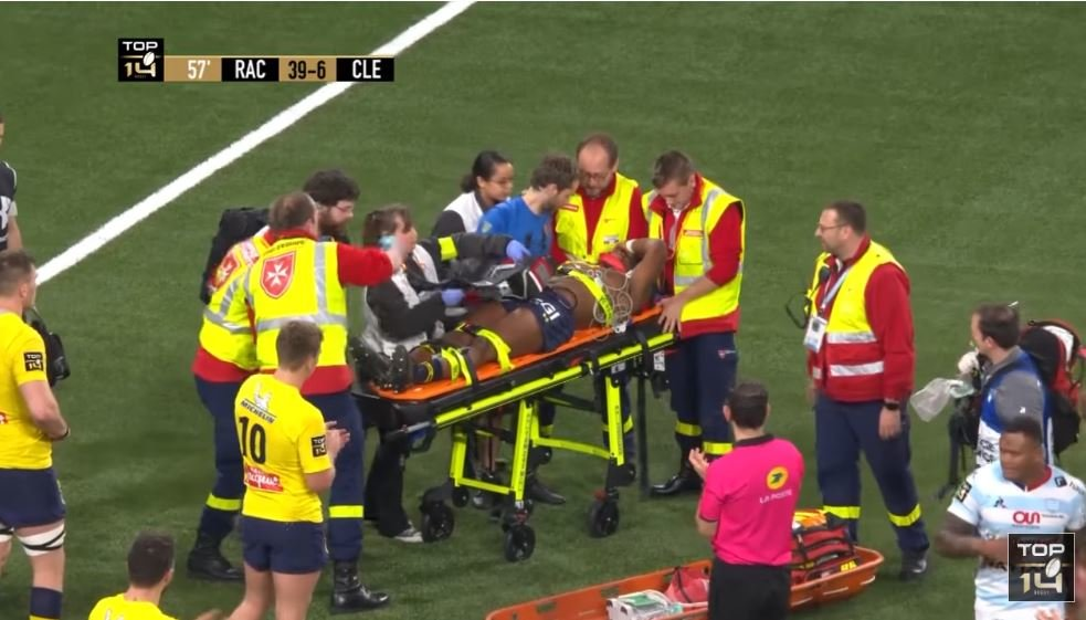 WATCH: The brutal collision that left 18-year-old Clermont debutant hospitalized