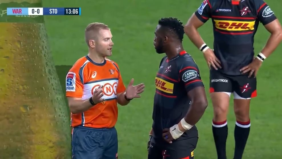 Angus Gardner shows why he's pushing Nigel Owens for world's best ref accolade