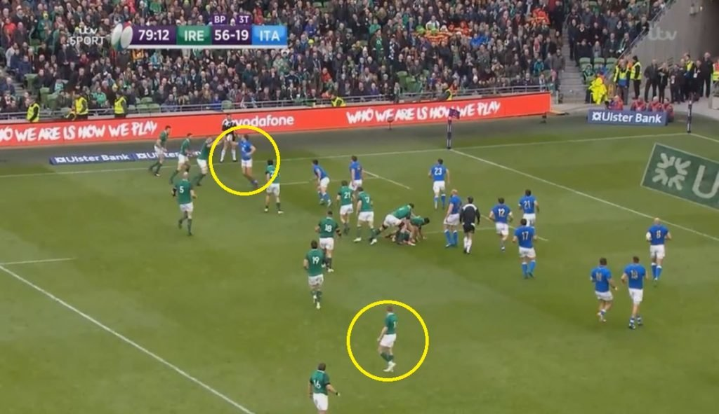 WATCH: Keith Earls' remarkable foot race to hunt down Italian escapee