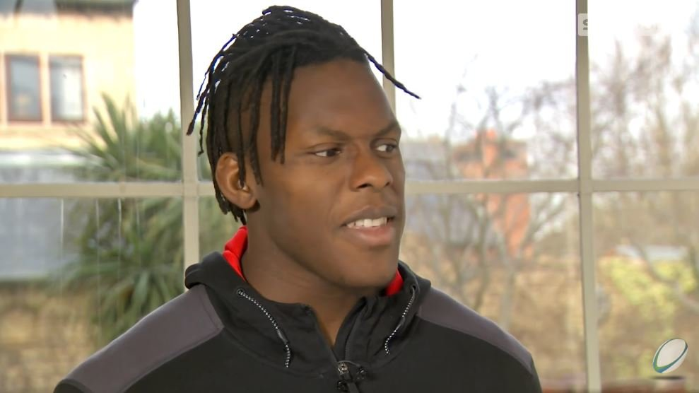 WATCH: Itoje initially dimisses Wales in Sky Sports interview before back peddling