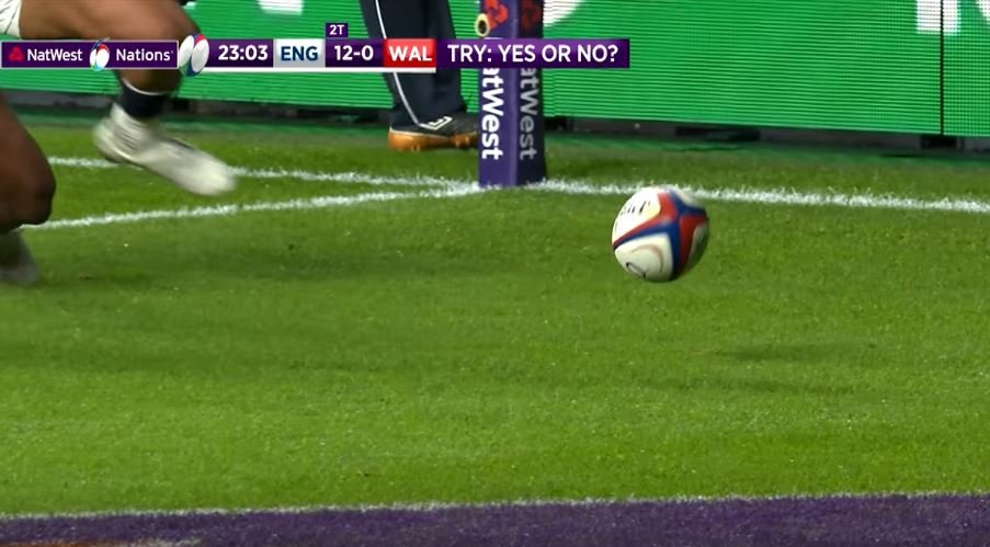 UPDATE: Enhanced footage shows Anscombe try should have been disallowed ANYWAY