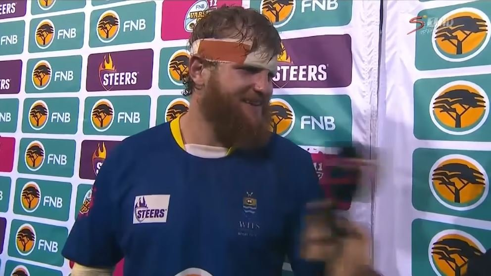 This Varsity captain's postmatch interview has become an INSTANT CLASSIC