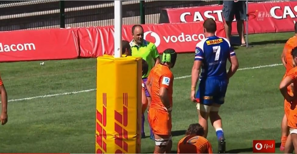VIDEO: Big blindside's remarkable honesty with referee should be applauded
