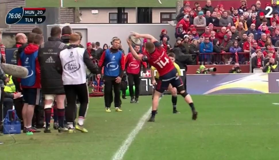 The Andrew Conway solo try that has shaken rugby to it's very core