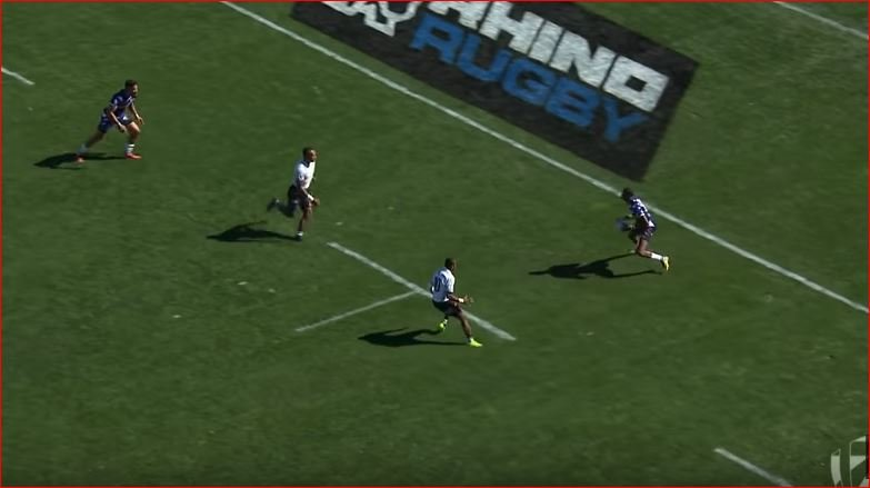 Many are calling this Perry Baker solo try the best in Sevens' history