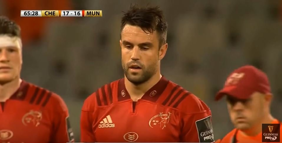 VIDEO: Conor Murray kicks 57 metre penalty, which Aaron Smith couldn't