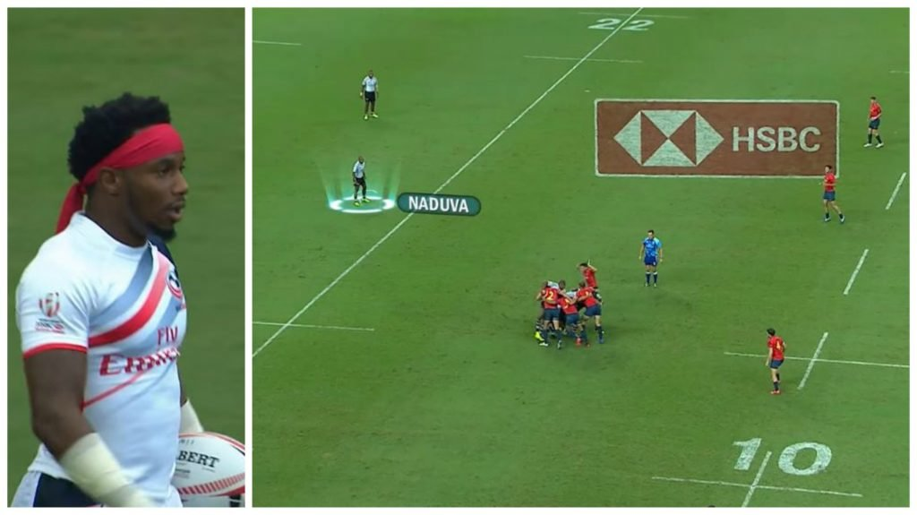 WATCH: Fiji's Naduva timed top speed shows he's as fast as Carlin Isles