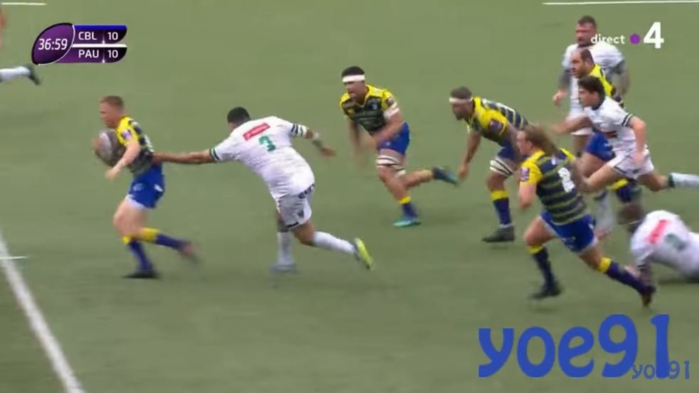 VIDEO: Watch 145kg prop Malik Hamadache's w**** worthy performance against Cardiff