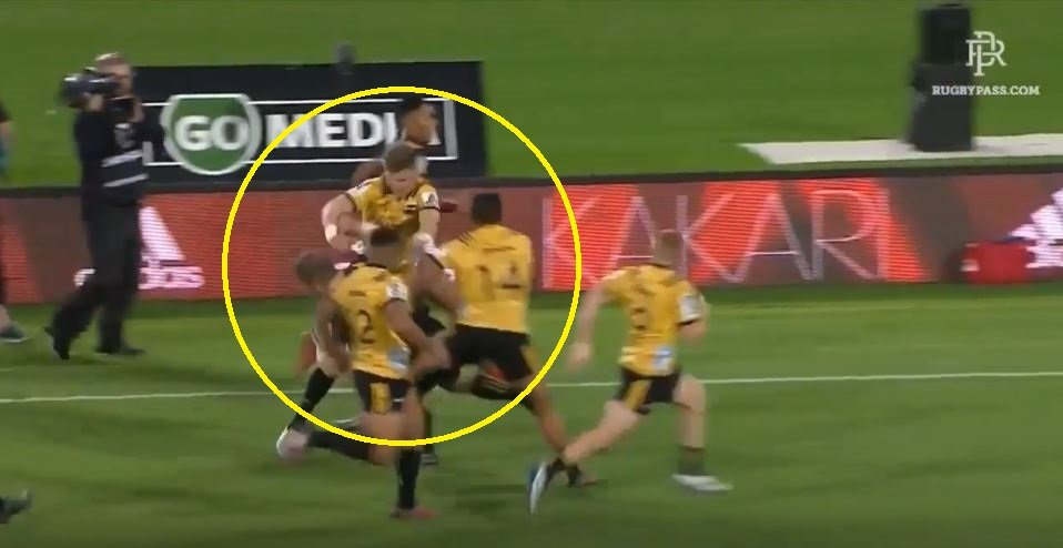 FOOTAGE: Proof that Jordie Barrett has attained an All Black invisibility cloak