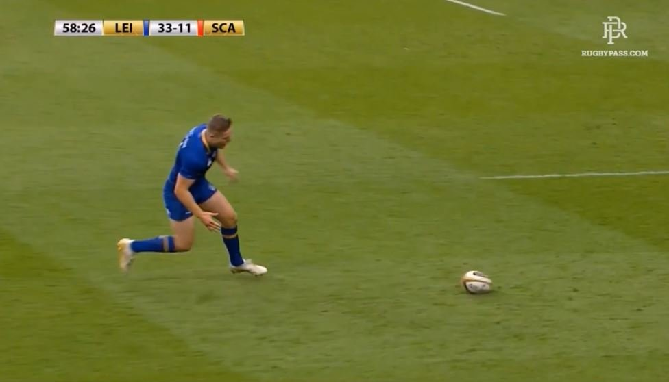FOOTAGE: Check out Irish prodigy Jordan Larmour's ridiculous 'pick up' try