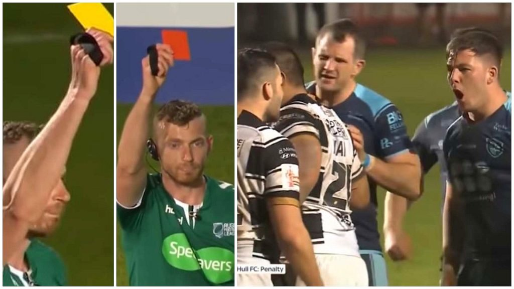 5 cards issued in League match within minutes after litany of frenzied savagery