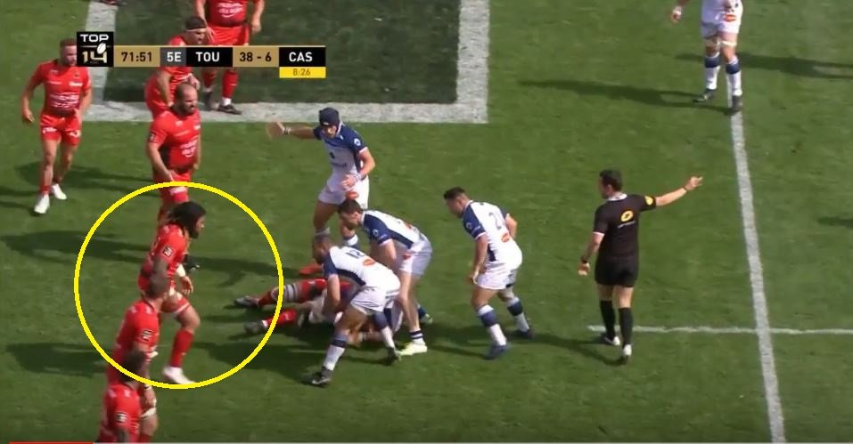 VIDEO: 'My bad bro' - Nonu yellow carded for yet another sloppy excuse for a tackle