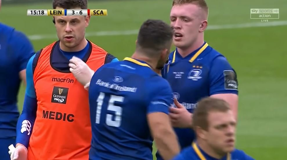 WATCH: Sexton and Kearney's telepathic connection on 'seek + retain' play