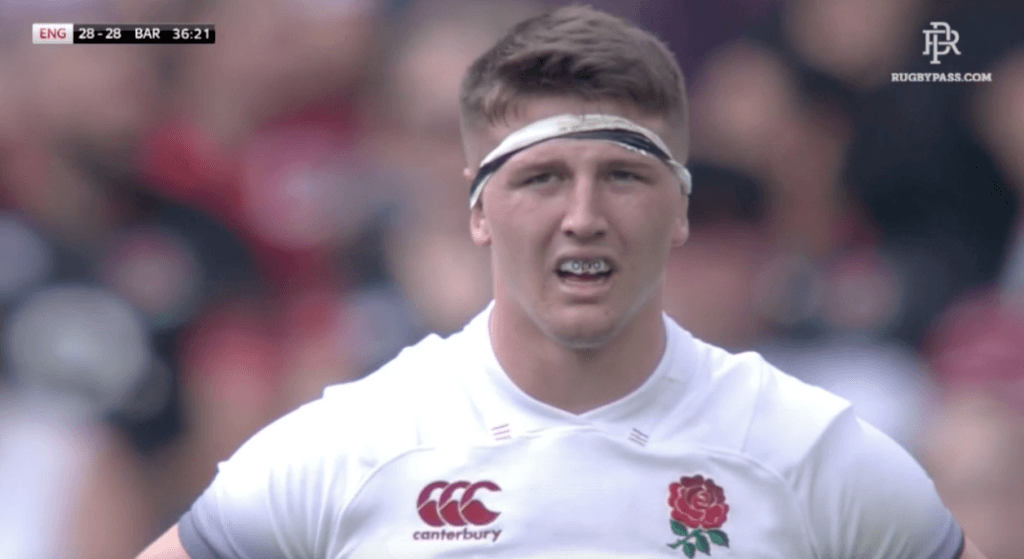 VIDEO: Tom Curry puts in another impressive display for England
