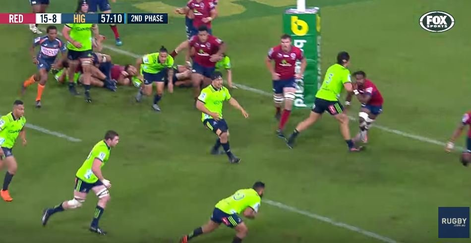 FOOTAGE: Bullyboy All Black 'ploughs' through player half his size - shows zero remorse