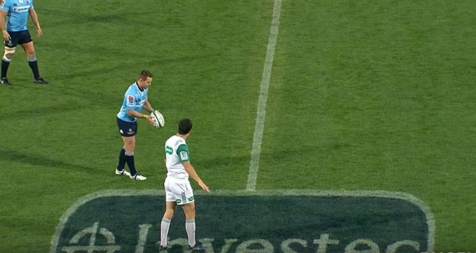 Watch the Waratahs destroy the Saders with 29 points in 27 minute spell