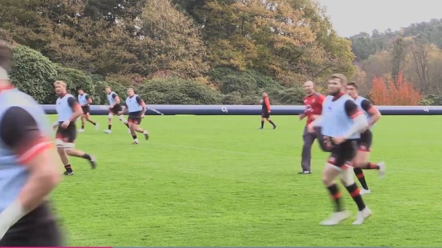 BRUTAL: Leaked footage of England training emerges and it's genuinely shocking