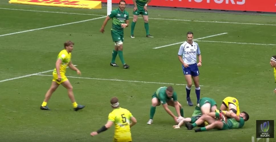 Speed freak score first Irish 7s try in Twickenham in 14 years