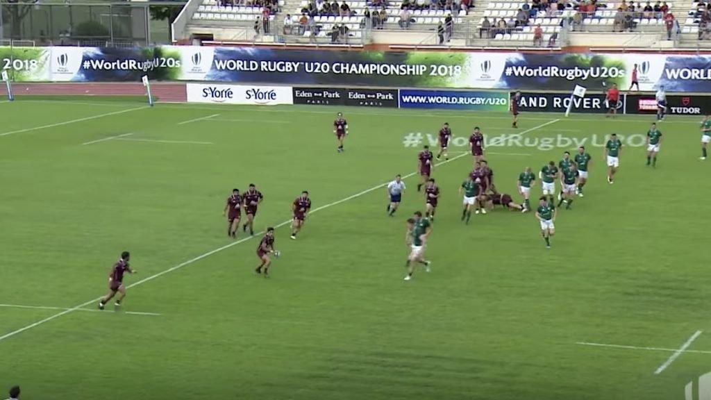 Georgia boss Ireland in comfortable victory at U20s World Championship