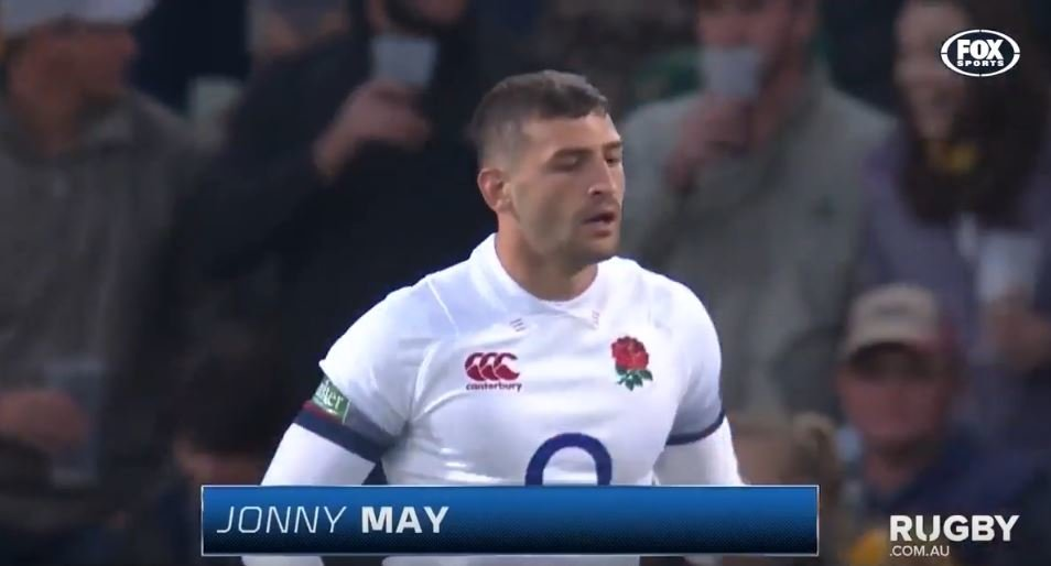 FOOTAGE: Jonny May's understated reaction to penalty is a timely example for all players