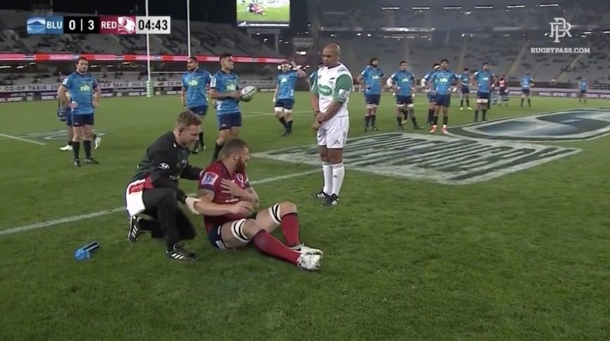 FOOTAGE: Kaino marks final game in Eden Park with suitably disgusting act