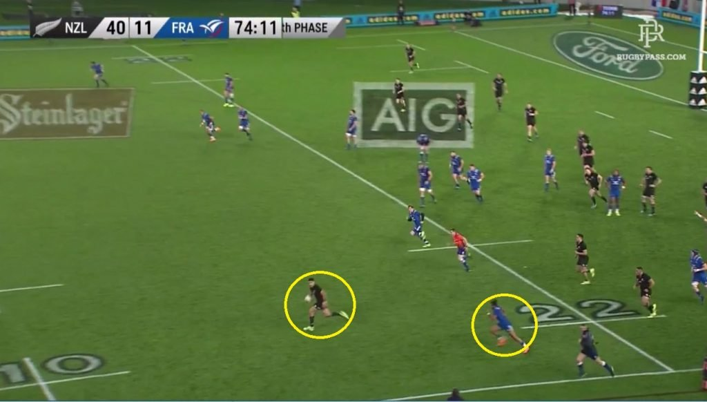 PROOF: Rieko Ioane gets absolutely smoked AGAIN...this time by Teddy Thomas