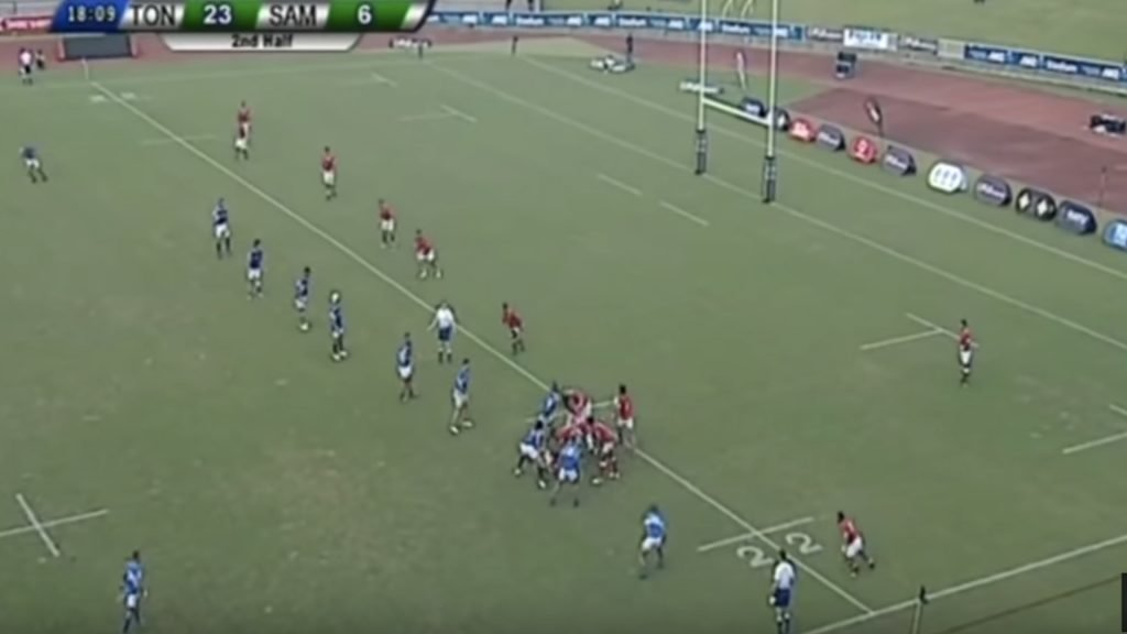 WATCH: Tonga's Penikolo Latu scores the greatest individual try of 2018