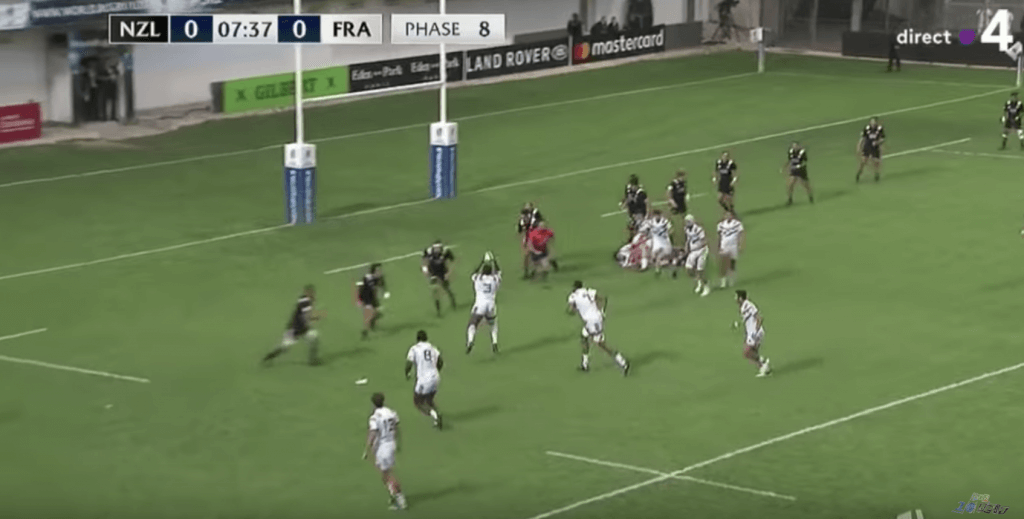 WATCH: French 20-year-old prop uses 118kg mass to carry, spin, roll and offload France to the final