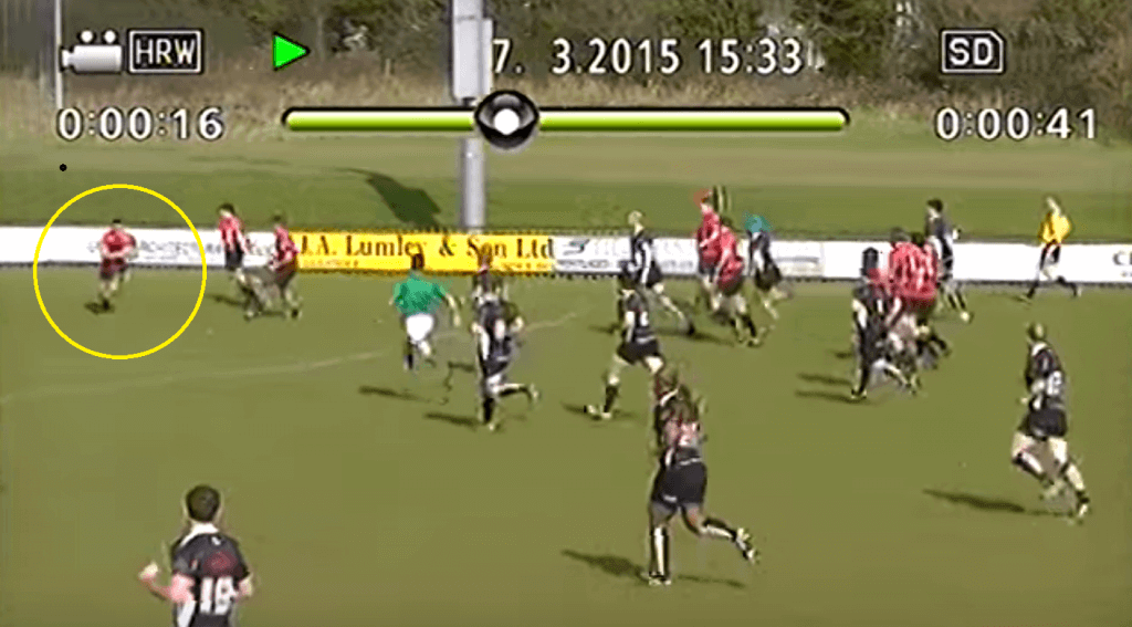 FOOTAGE: New Irish 7s star Jordan Conroy scored a ridiculous 90m try 3 years ago