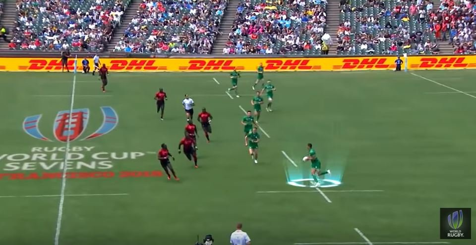 WATCH: Jordan Conroy clocked at ridiculous KMPH at World Cup 7s