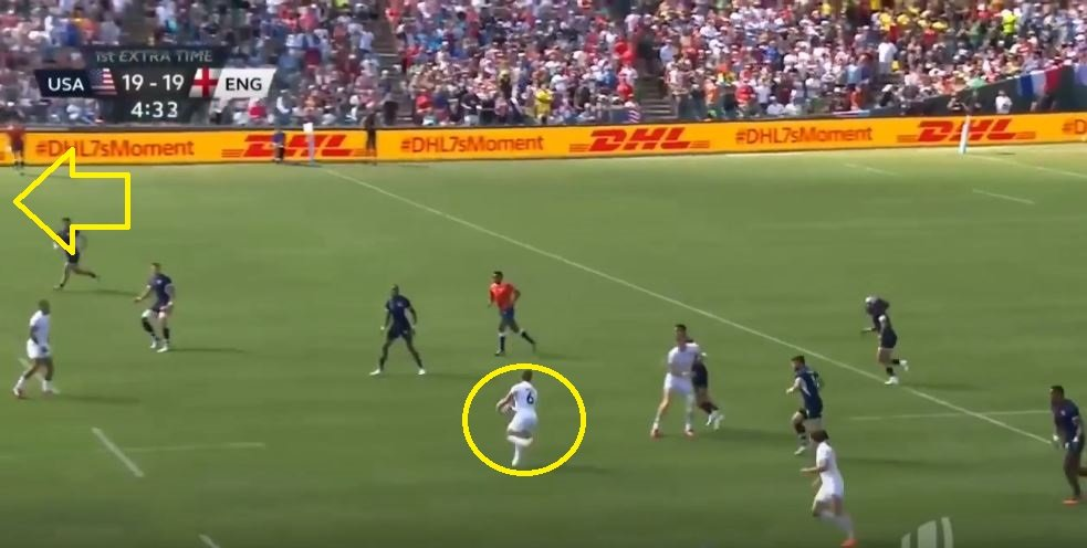FOOTAGE: Last minute England magic knocks USA out of RWC7s in San Francisco