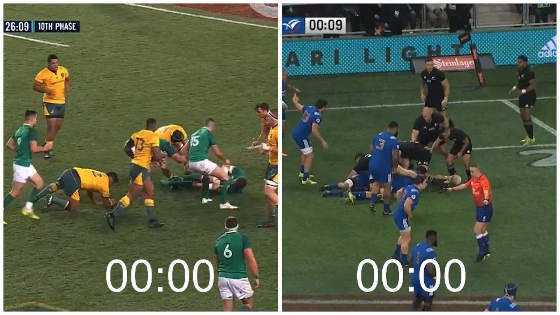 SETTLED: Who's the faster passer - Conor Murray or Aaron Smith?