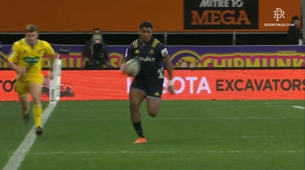 WATCH: Waisake Naholo burns off Rebels defence with sheer speed
