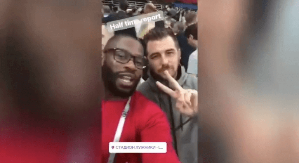 VIDEO: Witness Ugo Moyne's CAR CRASH Instagram story as England bow out of World Cup