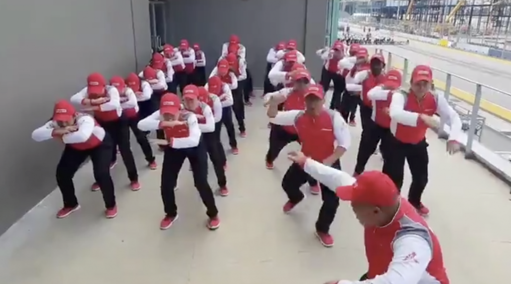 WATCH: Kiwis reach unfounded levels of triggery after company performs 'haka' for cheer competition