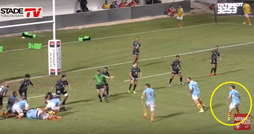 FOOTAGE: Paddy Jackson has a hand in 2 Perpignan tries and nearly sets up a third