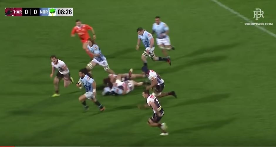 FOOTAGE: Vastly improved Rene Ranger destroys NZ defenders with Northern Hemisphere nous