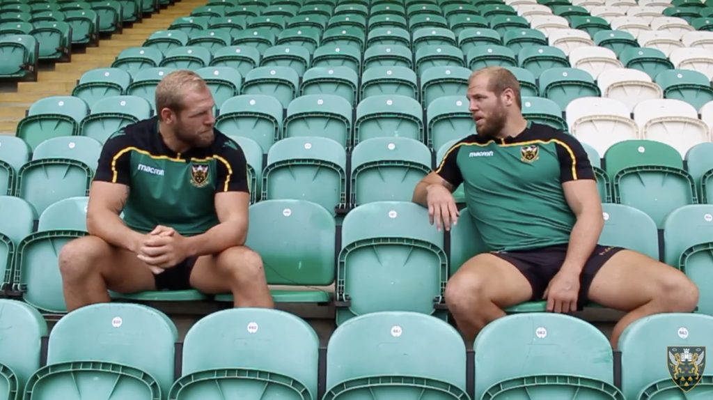 VIDEO: James Haskell interviews himself in bizarre but entertaining video about life at Saints