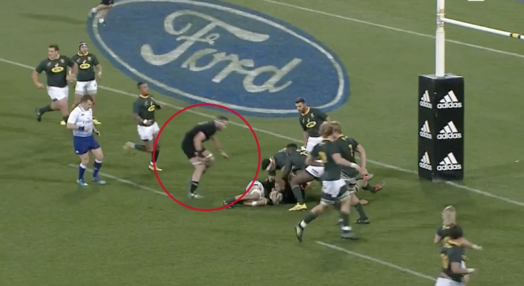 EVIDENCE: New footage reveals that Kieran Read should have been sent off for cowardly off the ball cheap shot