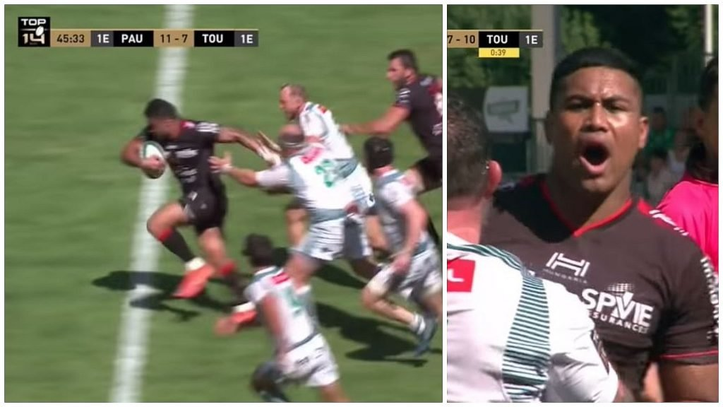 FOOTAGE: Julian Savea and Liam Messam make Toulon debut