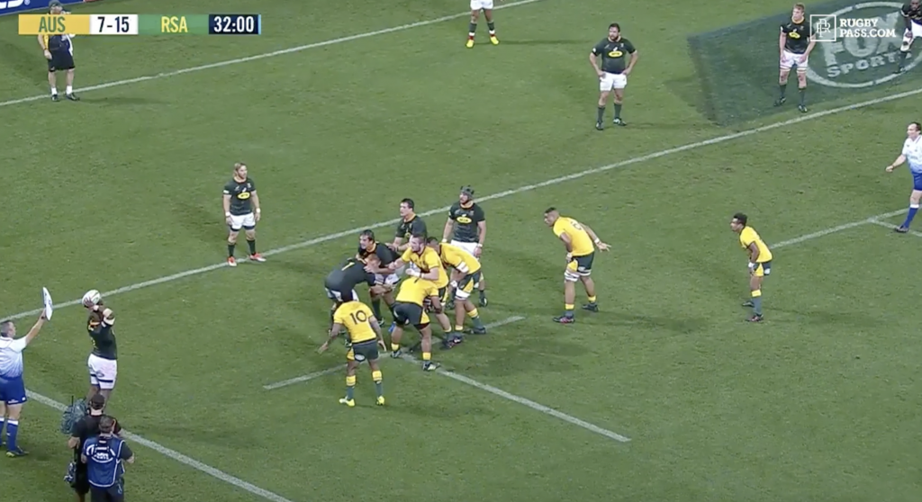 VIDEO: Springboks descend into calamity after lineout disaster on their own try line