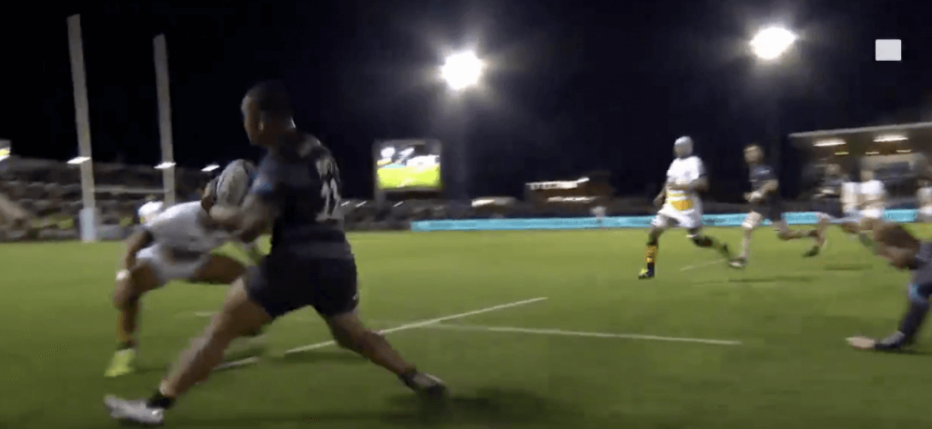 WATCH: Sinoti Sinoti ruins Wasps' winger's life with a step that is literally undefendable